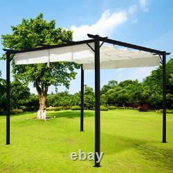 Alu Metal Garden Patio Gazebo Metal Grape Trellis Pergola Outdoor Canopy Shelter