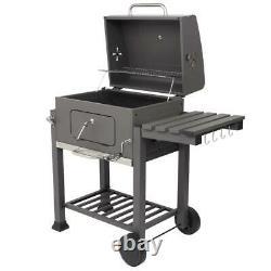 Barbecue BBQ Outdoor Charcoal Smoker Portable Grill Garden Picnic Patio Camping