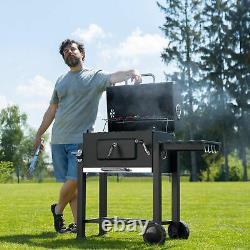 Charcoal BBQ's Heat Indicator Barbecue Outdoor Garden Patio Grills Black New