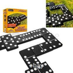 Giant Dominoes Garden Patio Outdoor Game For Kids Children & Family Summer Fun