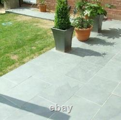 Grey Slate Paving Outdoor Tiles not slabs Garden & Patio As low as £16/m2