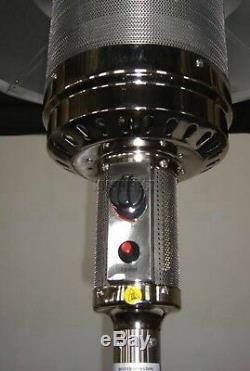 HEATSURE Metal Steel Garden Outdoor Fire BBQ Grill Gas Patio Heater Regulator