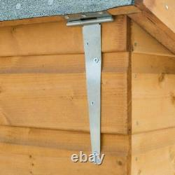 Rowlinson Garden Wooden Chest LID Shiplap Outdoor Storage Timber Wood Patio Unit