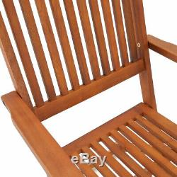 Wooden Dining Set Sydney Garden Chair Table Furniture Outdoor Patio Conservatory