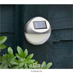 10 X Led Solaire De Jardin Clôture Lumière Mur Porte Patio Platelage Lampe Shed Outdoor