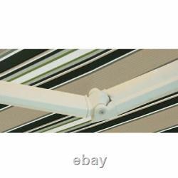 2 / 2.5 / 3 / 3.5 / 4m Auvent Auvent Auteur Patio Extérieur Jardin Sun Sun Shade Sheltre Rétractable