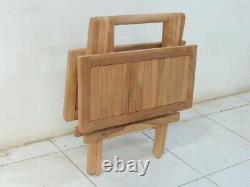 3 Seater Teak Wooden Garden Bench Outdoor Patio Seat Chair Lutyen Wood Furniture