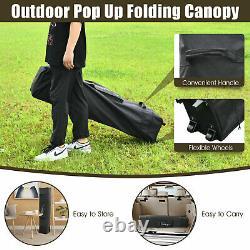 4 X 4m Pop Up Jardin Extérieur Gazebo Canopy Party Tente Patio Shelt 2-tier Toit