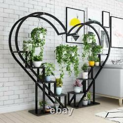 6 Support Plant Pot Stand Flower Display Shelf Garden Patio Indoor Outdoor Decor