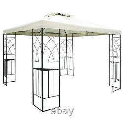 Alu Metal Garden Patio Gazebo Métal Grape Treillis Pergola Outdoor Canopy Shelter