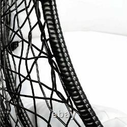 Chaise D'oscillation De Jardin Avec Le Coussin Rattan Hanging Egg Chairs Outdoor Indoor Patio