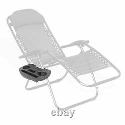 Chaise Extérieure Inclinable Chaise Longue Sun Lounger Seat Patio Pliage Camping Réglable