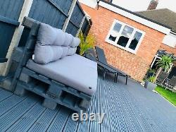 Chaises De Jardin Extérieures/meubles Gris De Palette De Patio De Table