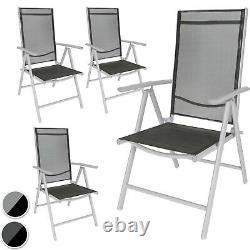 Chaises De Jardin Pliantes En Aluminium