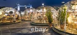 Étoiles Dome Garden Pub -patio Extérieur Gazebo Igloo Pvc Résistant Aux Intempéries / 1yrwarranty