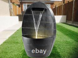 Fontaine D'eau De Jardin Led Dispositif Libre Restant Patio Extérieur De Meubles