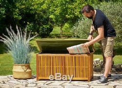 Jardin En Bois Boîte De Rangement Mobilier D'extérieur Accueil Jouets Grand Patio Grande Utilité