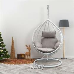 Jardin Suspendu Egg Swing Chair Patio Rattan Hamac Meubles Intérieurs Extérieurs