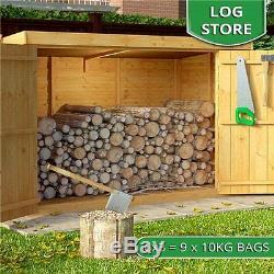 Local À Vélos En Bois Stockage Outils De Jardin Vélos Magasin De Plein Air Patio Cabinet Box