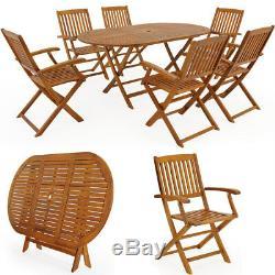 Meubles De Jardin En Bois Set De Table Boston Meubles De Patio En Bois Extérieur Conservatoire