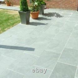 Pavage En Ardoise Gris Carreaux Extérieurs Pas Dalles Jardin & Patio Aussi Bas Que £16/m2