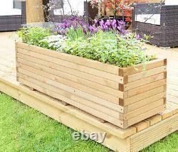 Planteur De Pins Ramifiés Jardin De Fleurs Autocontenues Plant De Patio De Plot