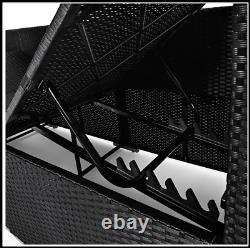Rattan Garden Sofa Bench Sun Lounger Patio Lit Double Jour Lit Inclinable Extérieur