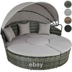 Rattan Sun Island Multi Lounge Furniture Garden Sofa Set Sièges Patio Extérieur