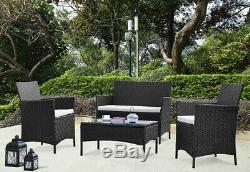 Rotin Meuble De Jardin Salon Extérieur Chaises Sofa Table Conservatory Patio