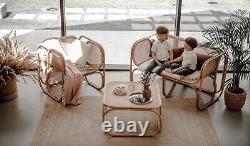 Sofa Normal De Rotin 2/3 Seater Extérieur De Meubles De Jardin De Zorba Conservatoire De Patio