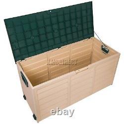 Starplast Outdoor Garden Plastic Storage Utilitaire Coffre Coffre Shed Box 280l