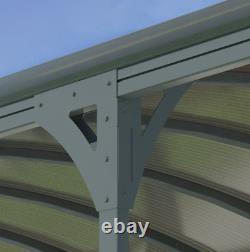 Structure Voiture Port Extérieur Gazebo Canopy Grand Jardin Patio Ombre Auvent Auvent
