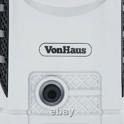 Vonhaus 1600w Max Pressure Washer Garden Patio Home Car Outdoor 90bar 330 Ltr